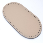 Bag Bottom Large Oval, 31x17εκ. (BA000334) Color Πούρου / Beige Cigaret